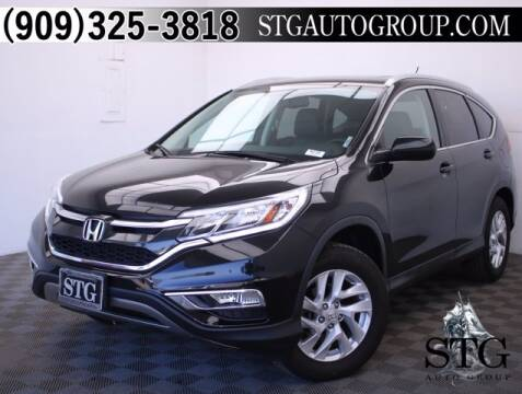2016 Honda CR-V for sale at STG Auto Group in Montclair CA