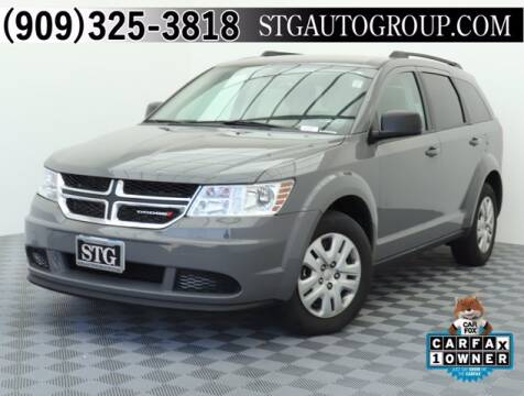 2019 Dodge Journey for sale at STG Auto Group in Montclair CA