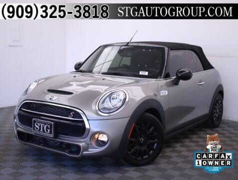 2017 MINI Convertible for sale at STG Auto Group in Montclair CA