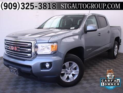 2018 GMC Canyon for sale at STG Auto Group in Montclair CA