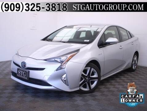 2016 Toyota Prius for sale at STG Auto Group in Montclair CA