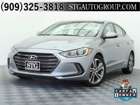 2017 Hyundai Elantra for sale at STG Auto Group in Montclair CA