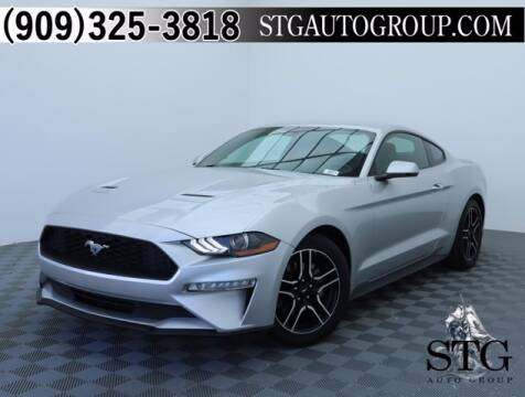 2018 Ford Mustang for sale at STG Auto Group in Montclair CA