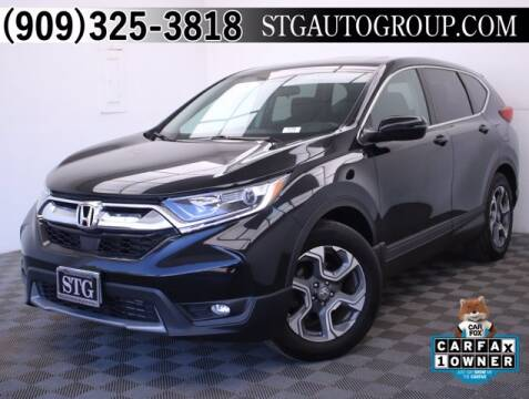 2017 Honda CR-V for sale at STG Auto Group in Montclair CA