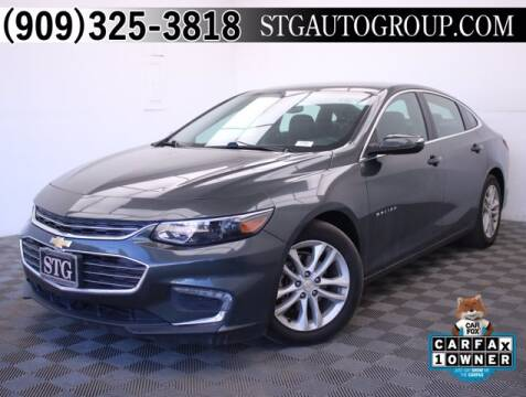 2017 Chevrolet Malibu for sale at STG Auto Group in Montclair CA