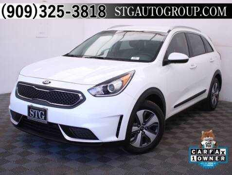 2017 Kia Niro for sale at STG Auto Group in Montclair CA