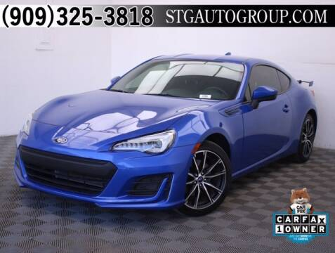 2018 Subaru BRZ for sale at STG Auto Group in Montclair CA