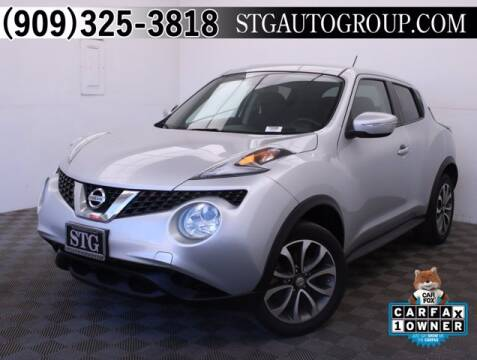 2017 Nissan JUKE for sale at STG Auto Group in Montclair CA