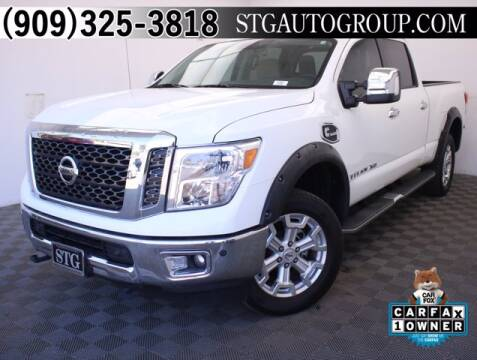 2017 Nissan Titan XD for sale at STG Auto Group in Montclair CA