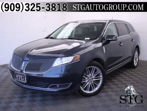 2014 Lincoln MKT for sale at STG Auto Group in Montclair CA