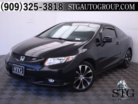 2013 Honda Civic for sale at STG Auto Group in Montclair CA