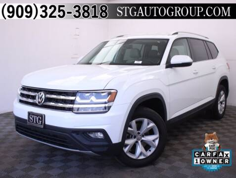 2018 Volkswagen Atlas for sale at STG Auto Group in Montclair CA