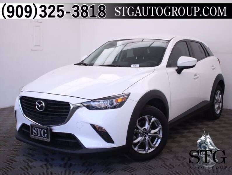 2018 Mazda CX-3 for sale at STG Auto Group in Montclair CA