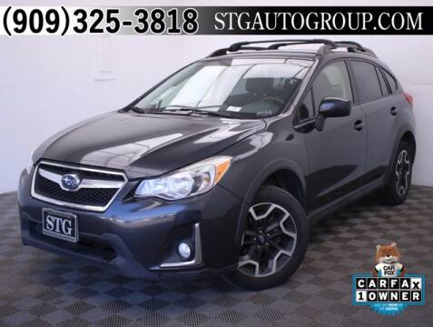2016 Subaru Crosstrek for sale at STG Auto Group in Montclair CA