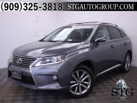 2015 Lexus RX 350 for sale at STG Auto Group in Montclair CA