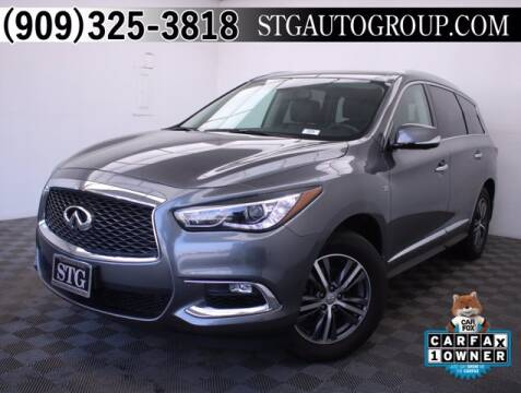 2017 Infiniti QX60 for sale at STG Auto Group in Montclair CA