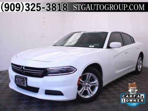 2017 Dodge Charger for sale at STG Auto Group in Montclair CA