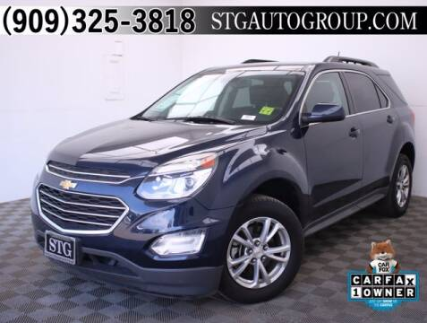 2017 Chevrolet Equinox for sale at STG Auto Group in Montclair CA