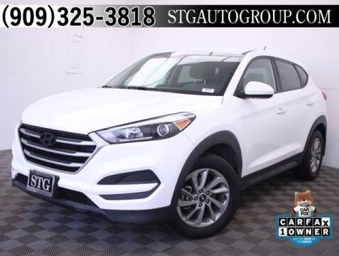 2017 Hyundai Tucson for sale at STG Auto Group in Montclair CA