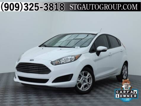 2015 Ford Fiesta for sale at STG Auto Group in Montclair CA