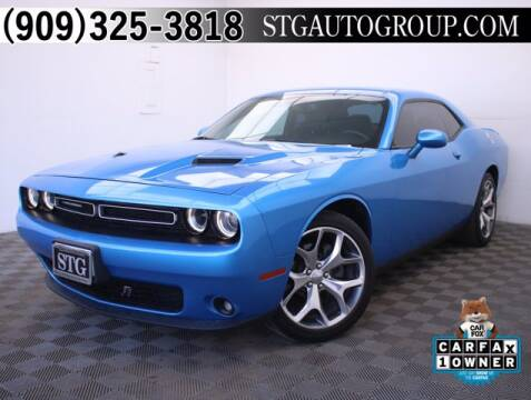 2016 Dodge Challenger for sale at STG Auto Group in Montclair CA