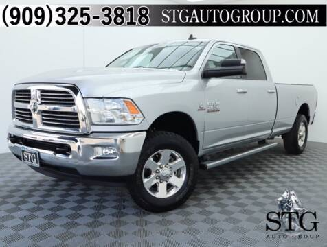 2015 RAM Ram Pickup 2500 for sale at STG Auto Group in Montclair CA