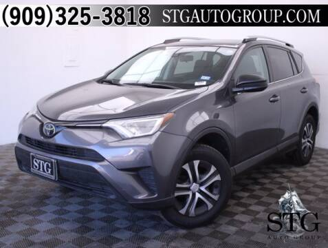 2017 Toyota RAV4 for sale at STG Auto Group in Montclair CA
