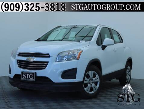 2016 Chevrolet Trax for sale at STG Auto Group in Montclair CA