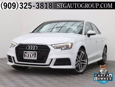 2017 Audi A3 for sale at STG Auto Group in Montclair CA