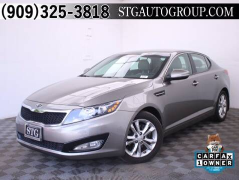 2012 Kia Optima for sale at STG Auto Group in Montclair CA