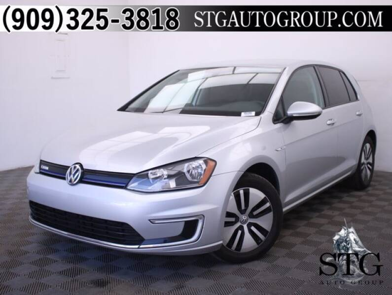 2016 Volkswagen e-Golf for sale at STG Auto Group in Montclair CA