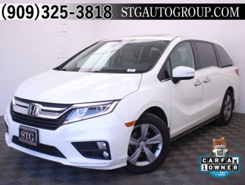 2018 Honda Odyssey for sale at STG Auto Group in Montclair CA