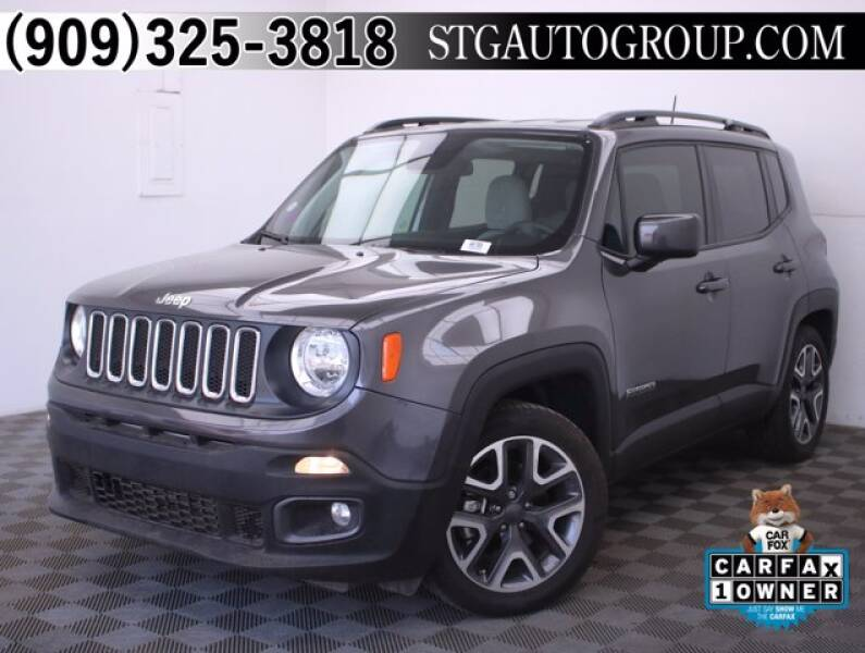 2018 Jeep Renegade for sale at STG Auto Group in Montclair CA