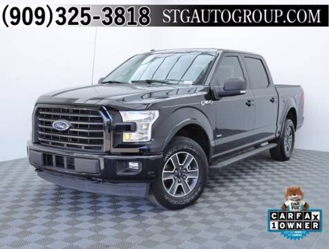 2017 Ford F-150 for sale at STG Auto Group in Montclair CA