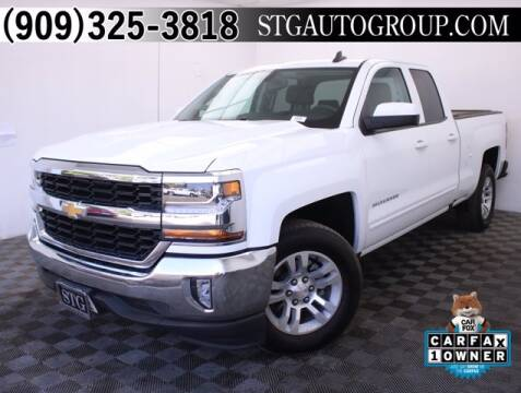 2019 Chevrolet Silverado 1500 LD for sale at STG Auto Group in Montclair CA