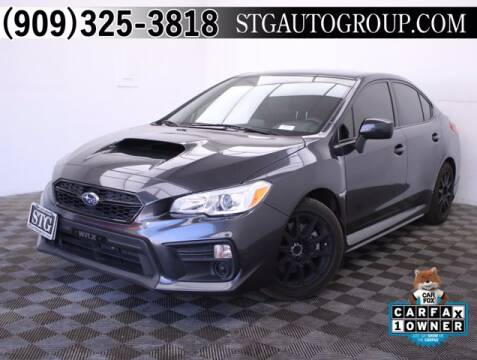 2019 Subaru WRX for sale at STG Auto Group in Montclair CA