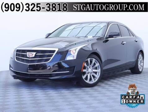 2017 Cadillac ATS for sale at STG Auto Group in Montclair CA
