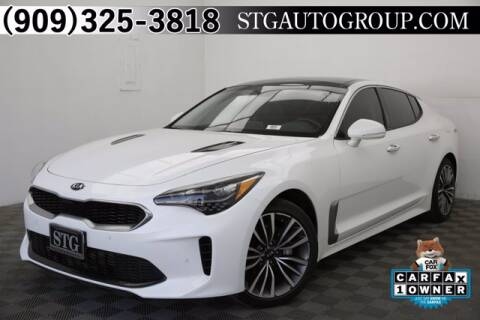2018 Kia Stinger for sale at STG Auto Group in Montclair CA