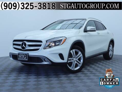 2017 Mercedes-Benz GLA for sale at STG Auto Group in Montclair CA