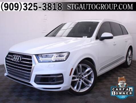 2017 Audi Q7 for sale at STG Auto Group in Montclair CA