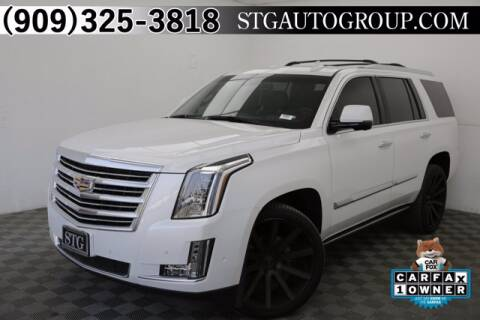2018 Cadillac Escalade for sale at STG Auto Group in Montclair CA