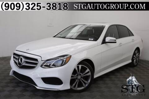 2016 Mercedes-Benz E-Class for sale at STG Auto Group in Montclair CA
