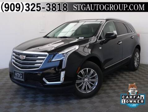2017 Cadillac XT5 for sale at STG Auto Group in Montclair CA