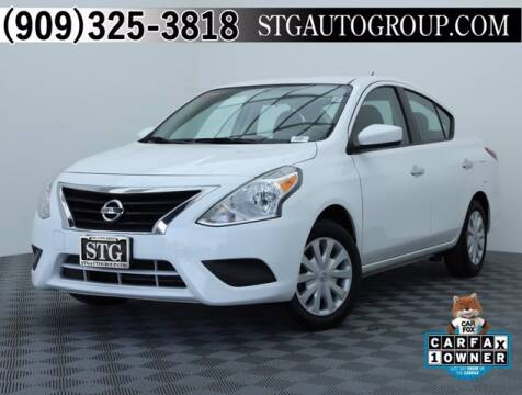 2019 Nissan Versa for sale at STG Auto Group in Montclair CA