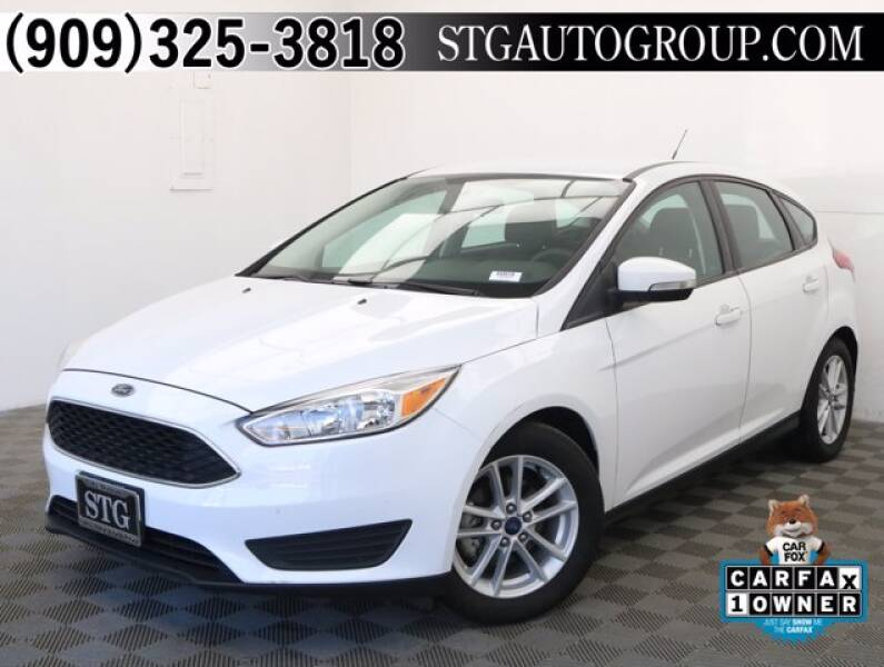 2017 Ford Focus for sale at STG Auto Group in Montclair CA