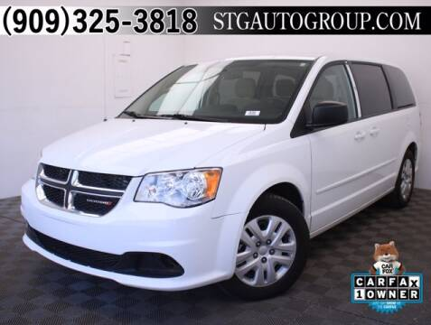 2015 Dodge Grand Caravan for sale at STG Auto Group in Montclair CA