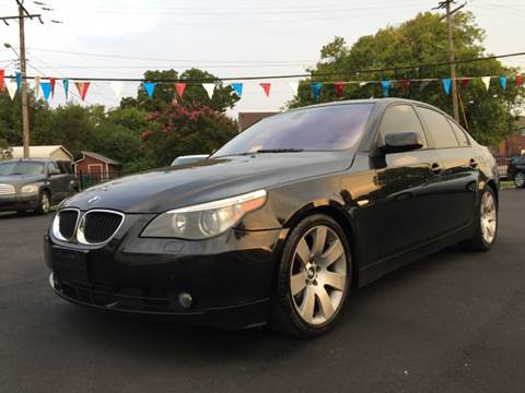 2006 BMW 5 Series for sale at Crestwood Auto Center in Richmond VA