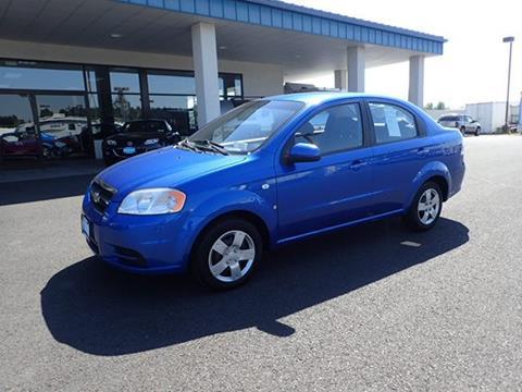2007 Chevrolet Aveo for sale in Deer Park, WA