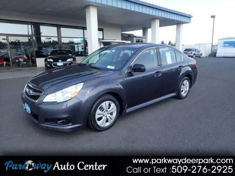 2010 Subaru Legacy for sale at PARKWAY AUTO CENTER AND RV in Deer Park WA