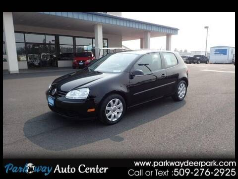2008 Volkswagen Rabbit for sale at PARKWAY AUTO CENTER AND RV in Deer Park WA